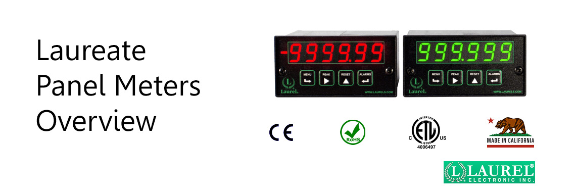 Laureate Panel Meters Overview